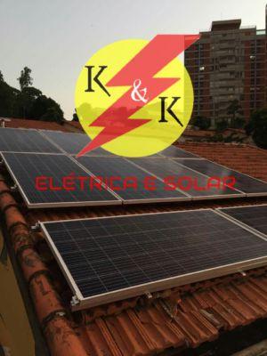 Instalação fotovoltaica em interlagos