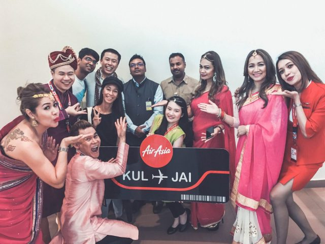 Jaipur with Air Asia
