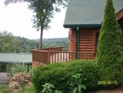 Cabin far left view