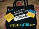 Visual Latin Tote 2to1 Conference 2012 004