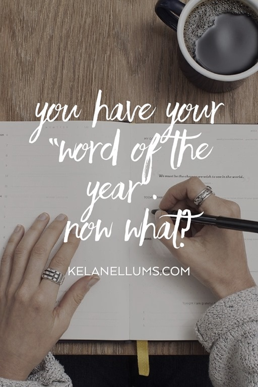 Pursuing What Is Excellent -- You Have Your Word of the Year