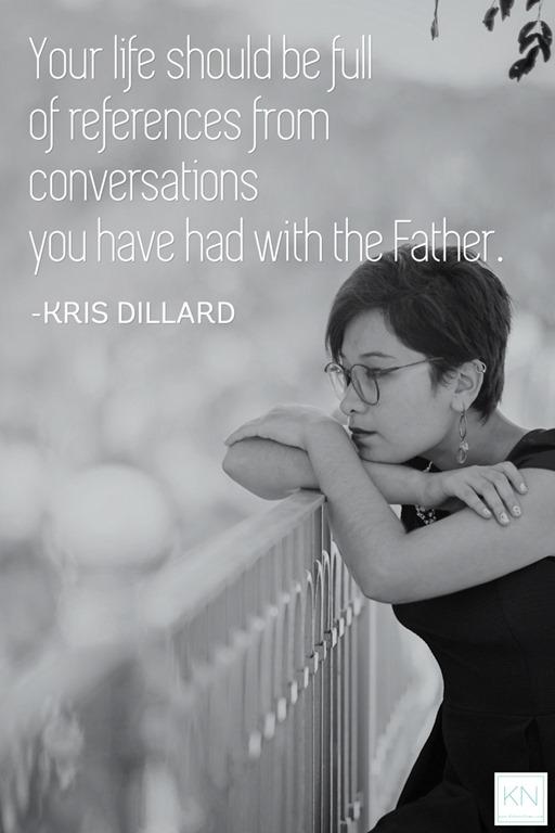 A life full of conversations - Kris Dillard