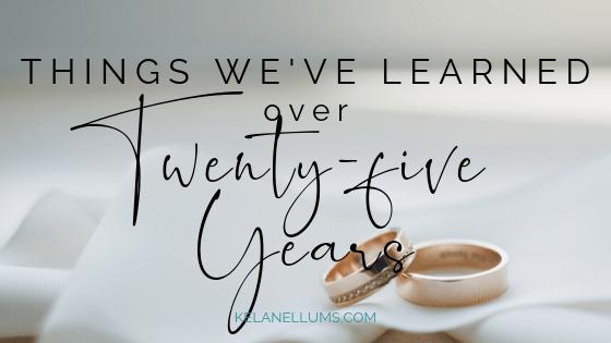 Things We've Learned Over Twenty-Five Years