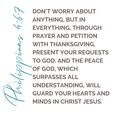 philippians 4 six and seven