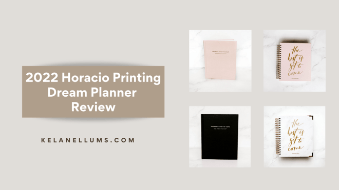 planner review header