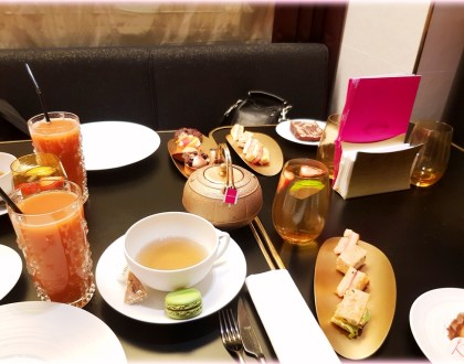 Le tea time du Grand Café Fauchon Paris