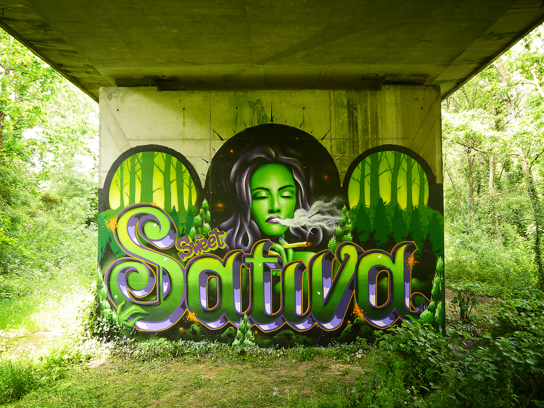 graffiti graphiste freelance