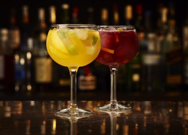 cocktail The Keg sangria
