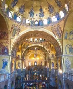 St Mark's Basilica church in Venice