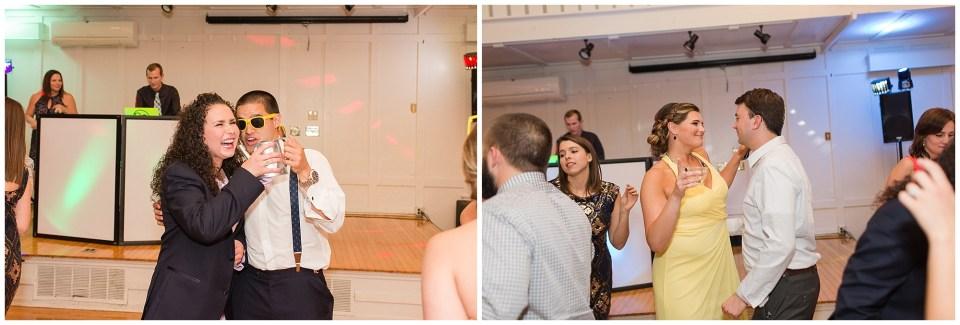 fun reception photos