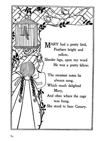 Mary had a pretty bird