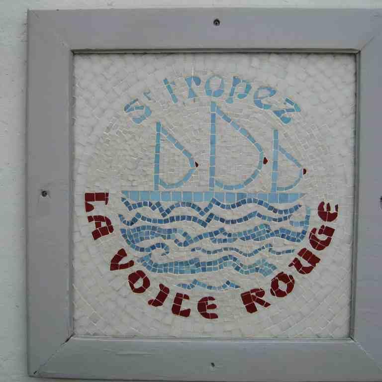 La Voile Rouge St. Tropez, France