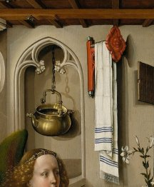 Detail of the Merode Altarpiece