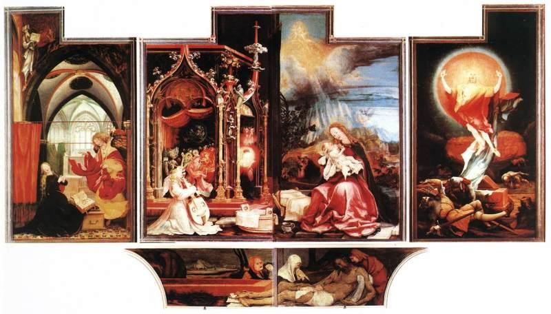 Isenheim Altarpiece Grunewald