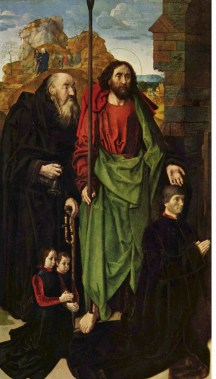 Left side panel of the Portinari Altarpiece