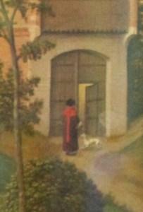 Detail from the Van Der Weyden Visitation