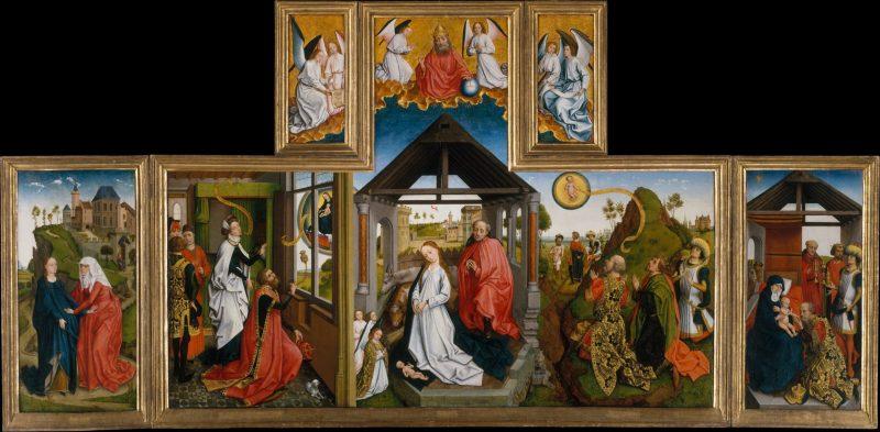 Nativity Altarpiece from Rogier Van Der Weyden's workshop