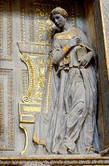 Detail of Mary from Donatello's Annunciaiton