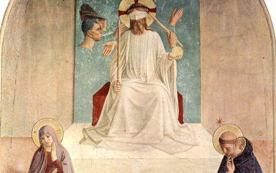 Fra Angelico's The Mocking of Christ