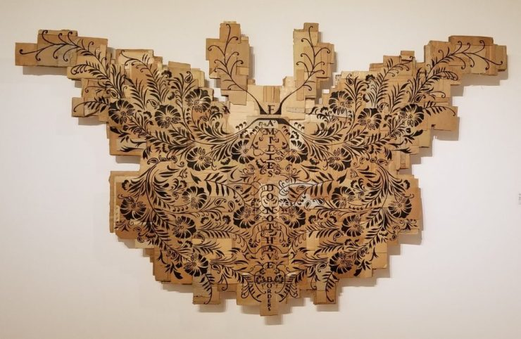 Andrea Bowers Monarch Article on visiting the LACMA and the Ridley Tree Art Museums.