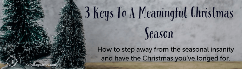 How to add meaning to your Christmas
