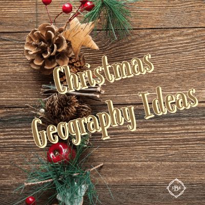 Great stress free ways to add Geography into your Christmas homeschool days