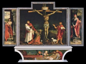 The Isenheim Altarpiece, Crucifixion panel by Grunewald