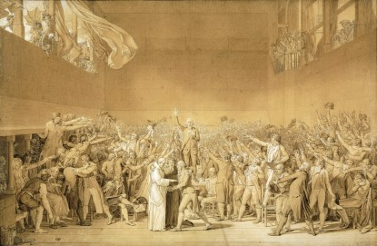 the Tennis Court Oath by David