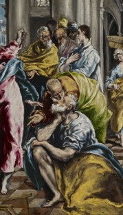 Detail from El Greco's Cleansing of the Temple