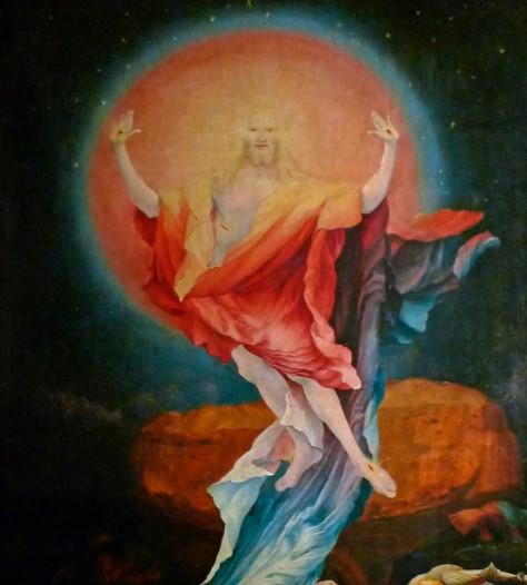Grunewald's Resurrection Detail