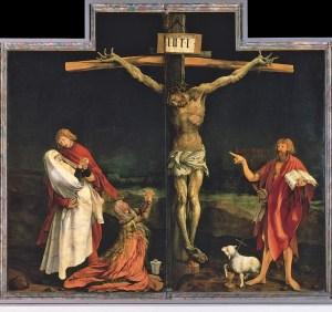 Grunewald's Crucifixion Isenheim Altarpiece