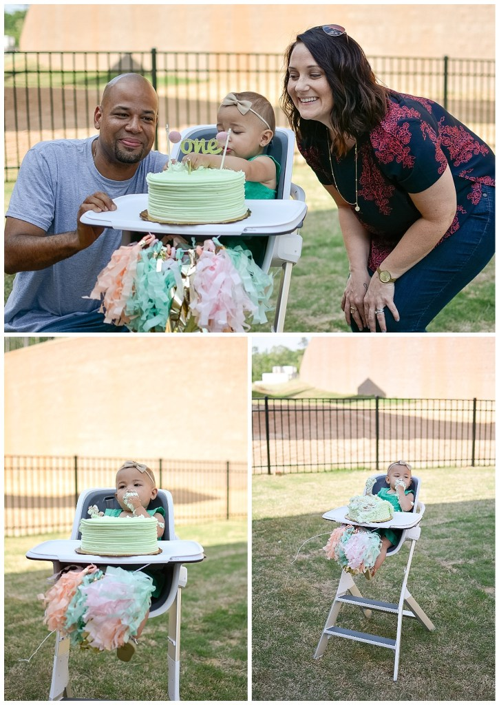 1st Birthday Kelly Bain Photography