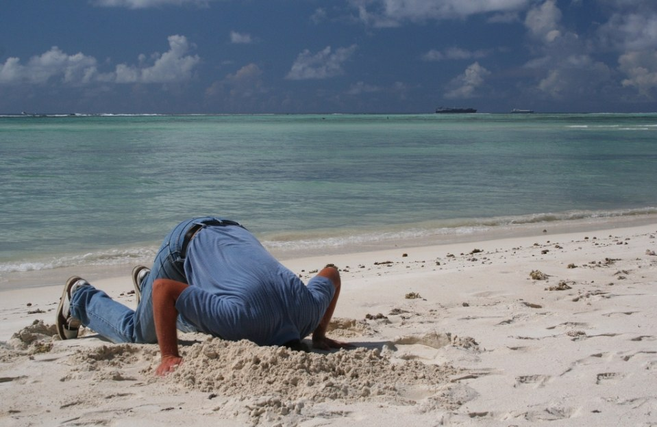Avoiding Bankruptcy - Sticking Your Head in the Sand Won't Work