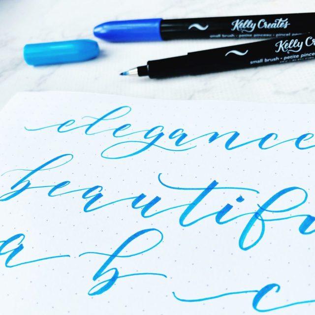 How to Write Elegant Modern Calligraphy – Kelly Creates