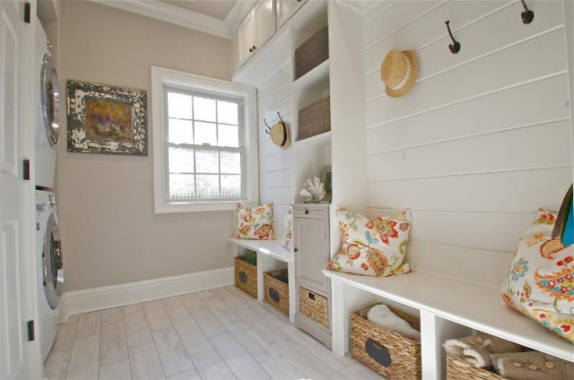How To Turn A Closet Into A Mudroom Laundry Room