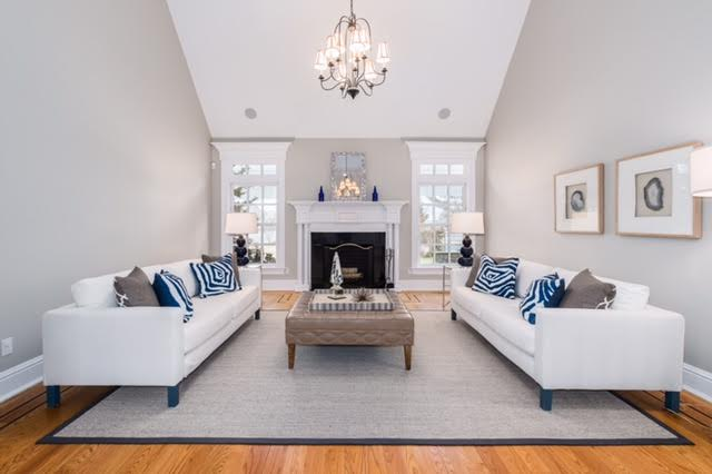 Southport Home Staged by kellydesigns, LLC