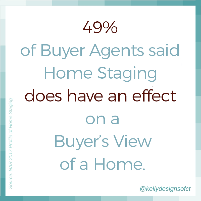 49% of Buyer Agents said Home Staging does have an effect on a Buyer's View of a Home