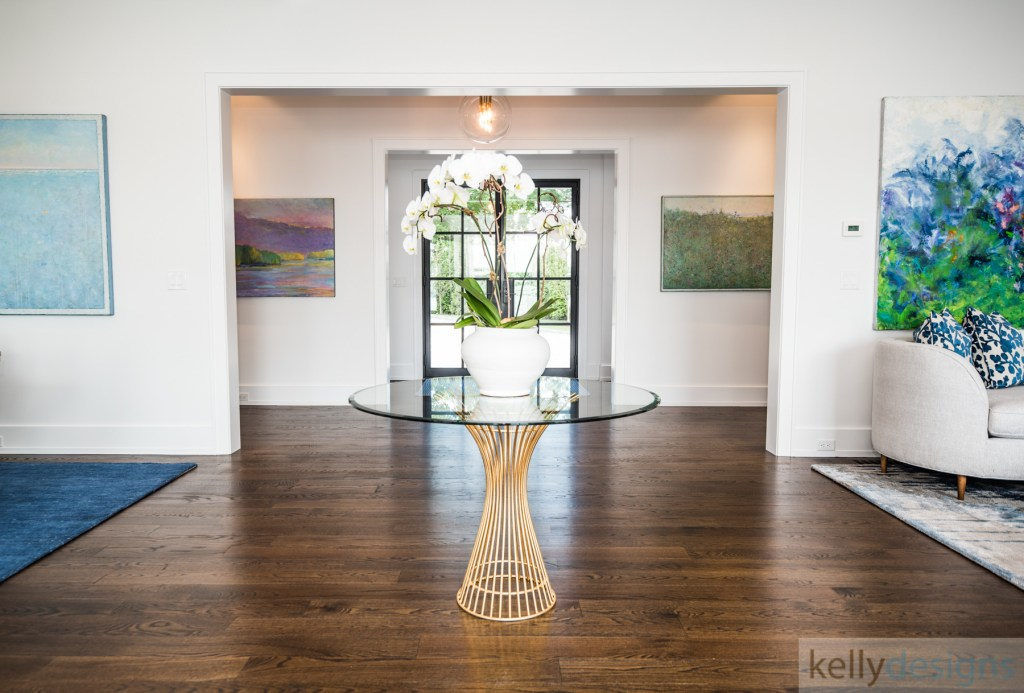 Brush Island Foyer - Interior Design By kellydesigns