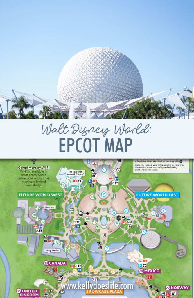 It is a photo of Slobbery Printable Disney World Maps 2020