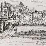 Sketch of the Vltava River, Prague - Kelly Goss