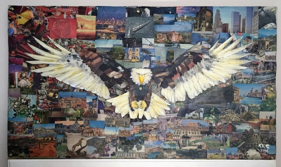 """Escape"" - Eagle - CirculART Trail - Kelly Goss Art"