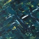 """Nightshade"" abstract - acrylics - Kelly Goss Art"