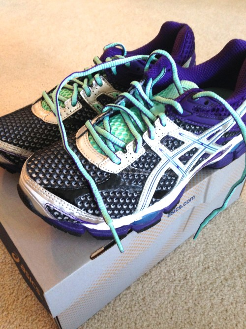 New version of the running shoe. ASICS Gel Cumulus 16.