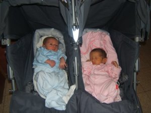"""Yinon (the """"y"""" is silent) and Renana - born June 10, 2009"""