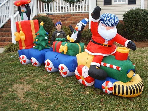 Cheap Outdoor Inflatable Christmas Decorations