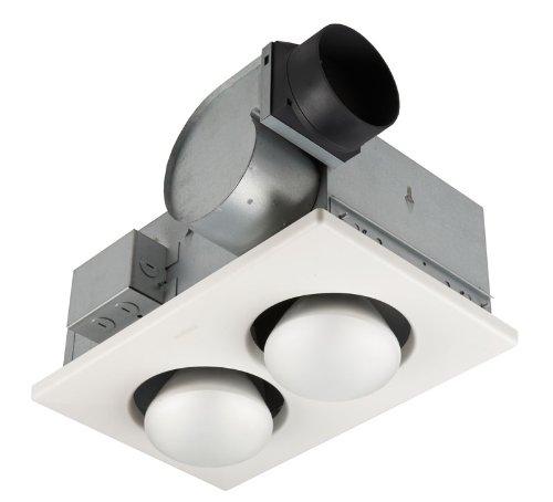 Bathroom Heat Lamp Fixture with Fan