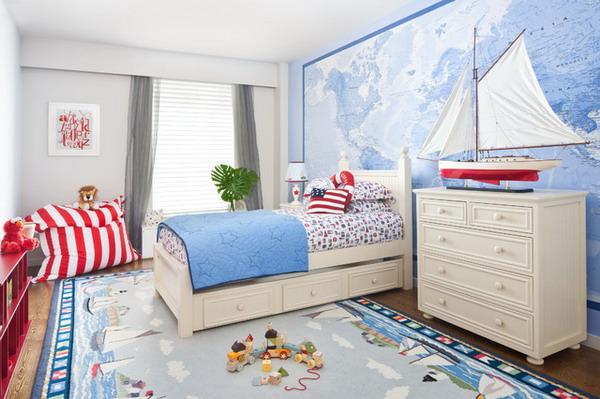 DIY Beach Theme Bedroom