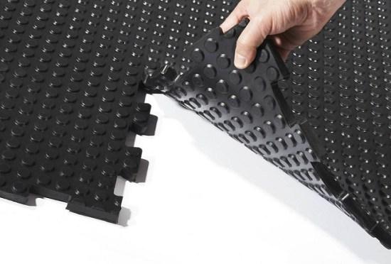 Interlocking Floor Tile Systems
