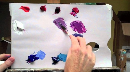 Basic Paint Color Mixing Chart