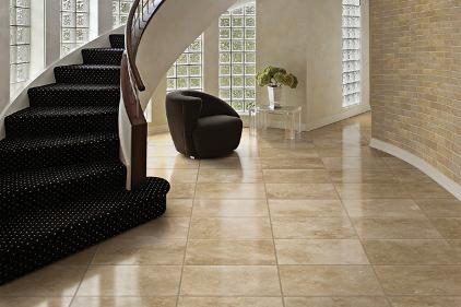 Polished Travertine Tile